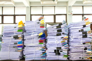 image of business papers
